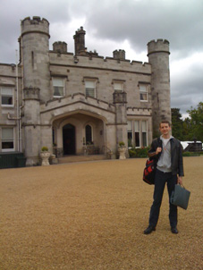 Magician Christopher Howell at Dundas Castle